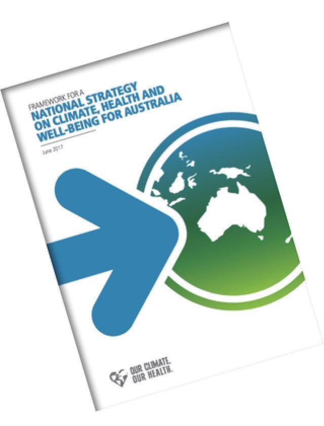 Tune in to watch the launch of our National Strategy on Climate Health and Wellbeing for Australia, today at 10am!! https://t.co/MuqAoMwlQQ