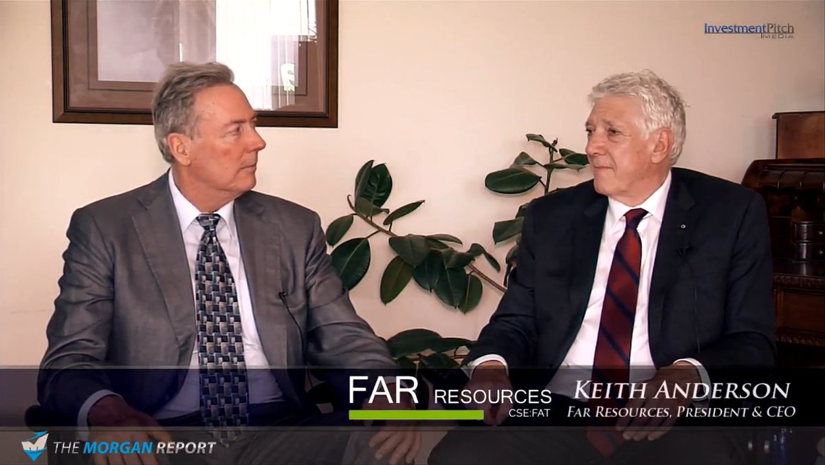 Video | Far Resources CEO Keith Anderson interview with David Morgan, via InvestmentPitch |  https://www. youtube.com/watch?v=xyMDrW awZsc &nbsp; …  | #lithium #Manitoba #MB <br>http://pic.twitter.com/C6RVxTRaU8
