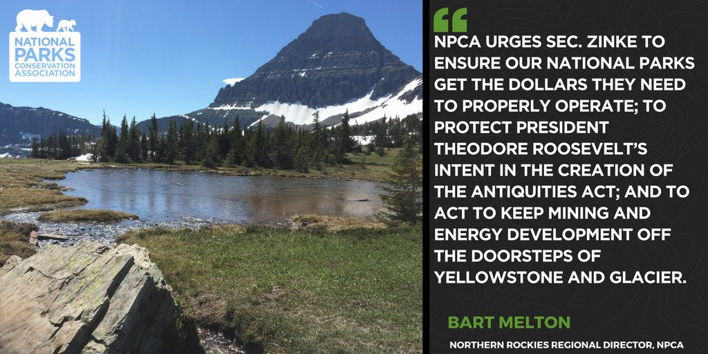 RT if you agree: @SecretaryZinke must protect Glacier and Yellowstone's doorsteps from energy development and mining https://t.co/24szml0Evo