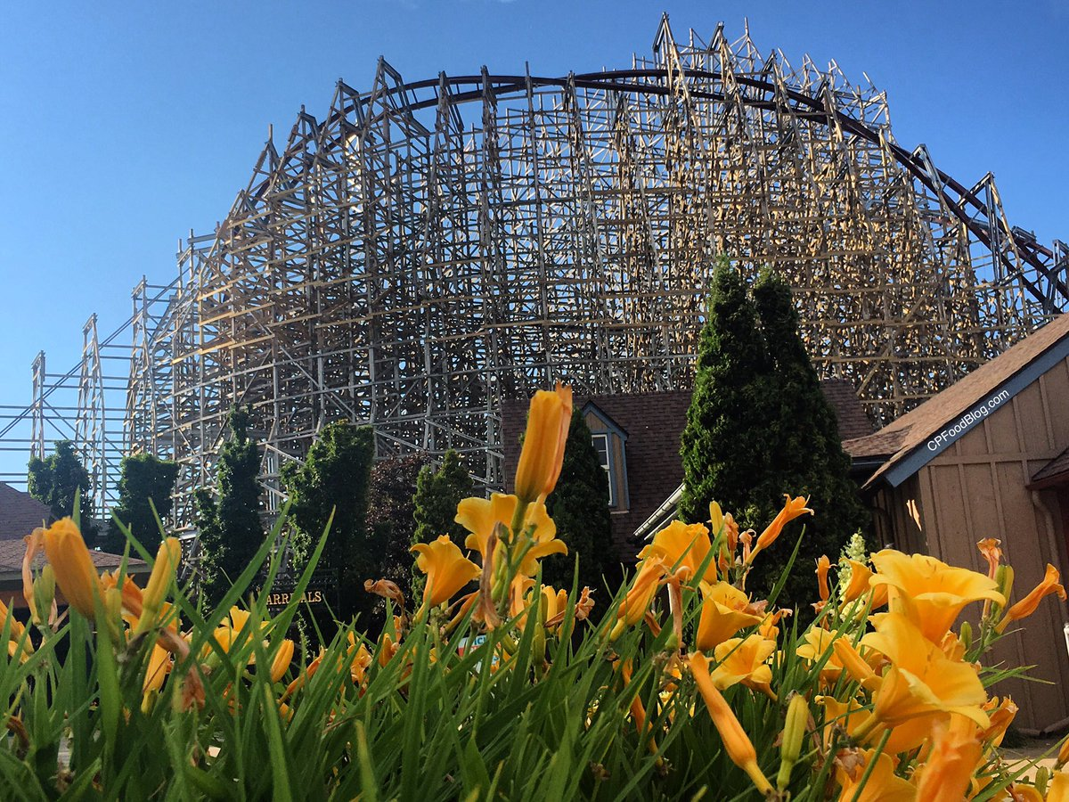Hello you beautiful masterpiece! #RMC #RMCMeanStreak #MeanStreak #CedarPoint #IHeartCP #RollerCoaster<br>http://pic.twitter.com/t4HSftVGJc
