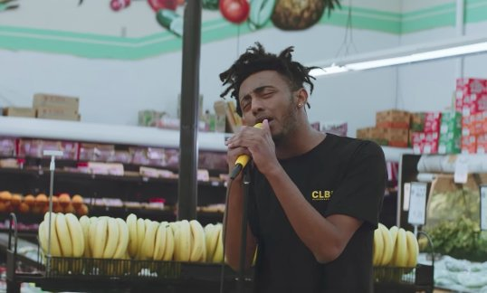 Watch @heyamine sing 'Turf' live in a supermarket with @ImCharlieWilso...