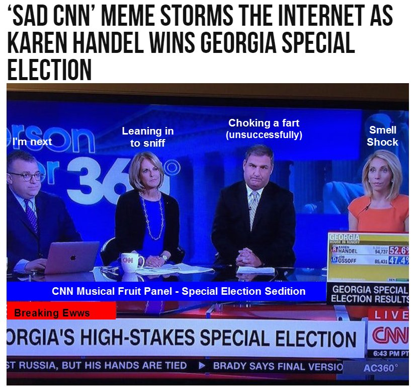 #CNNNEWS -- Who gives a toot about CNN?  Only them!  Too bad their toots aren&#39;t fake. #CNNStinks #EnemiesofAmerica<br>http://pic.twitter.com/apCXW4Cunj