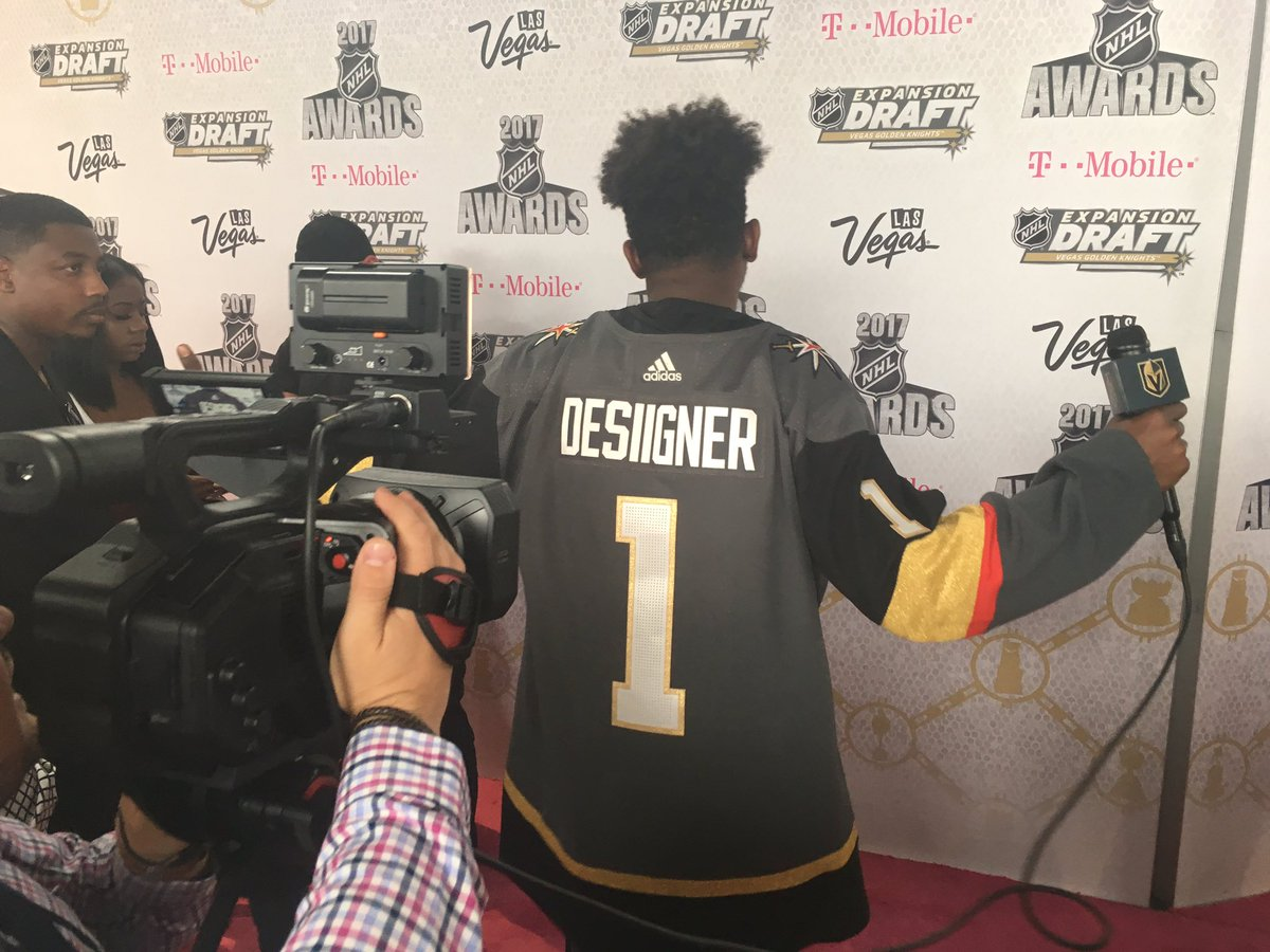 We'll have player names to start filling the backs of our jerseys befo...