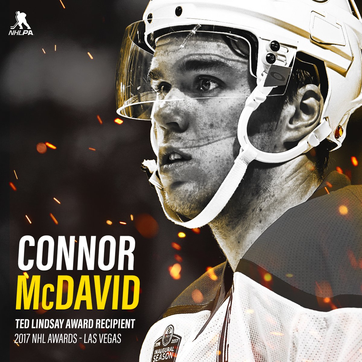 Congratulations to 'Most Outstanding Player' Connor McDavid on receivi...