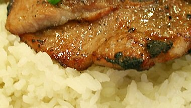 Creole Pork Chops with Rice