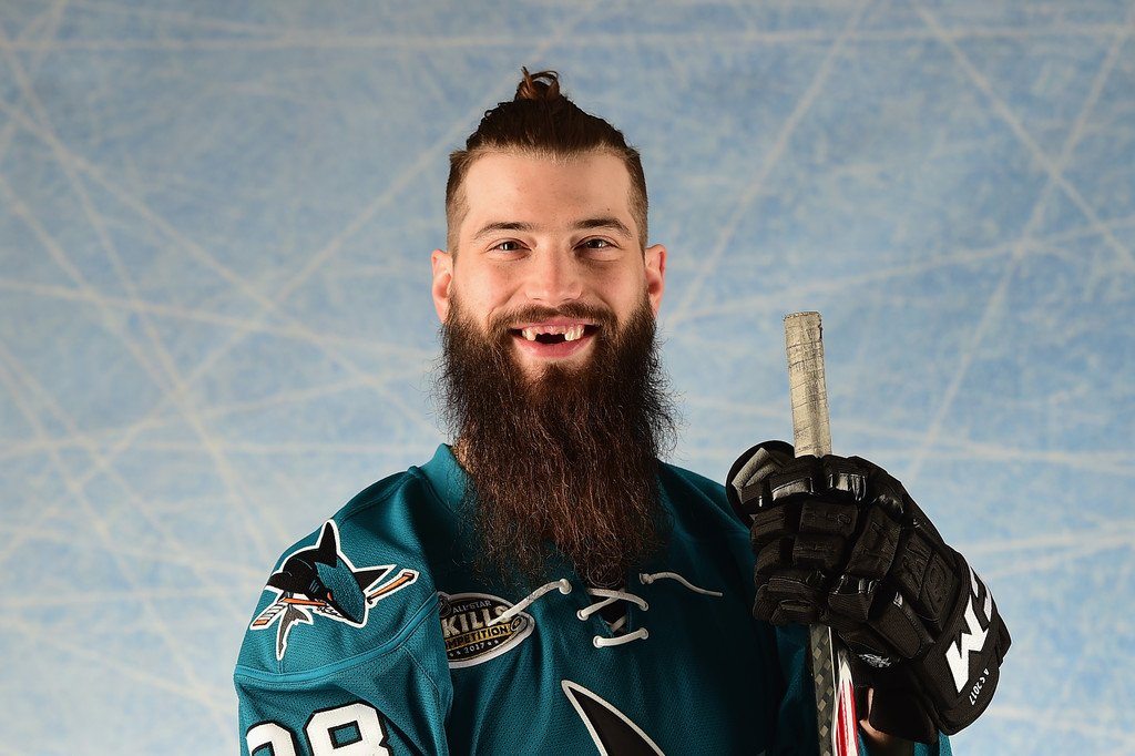 The winner is: Brent Burns! His first Norris win. Burns led all D-men with 29 goals and 76 points. He also has the biggest beard. #Sharks <br>http://pic.twitter.com/iH8z7DSqRb