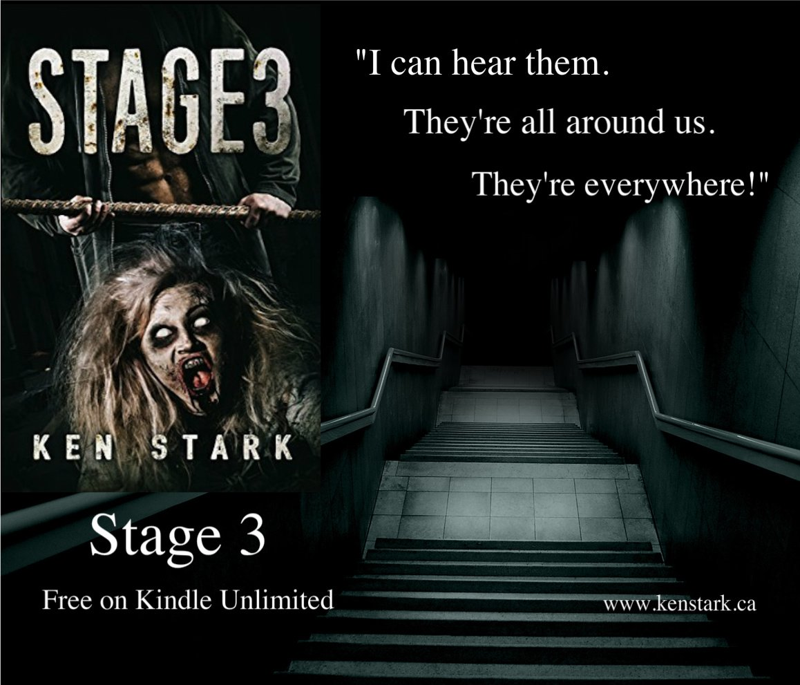 The lights flickered once and died, and the darkness swallowed them whole. #horror #book #thriller #FREE w #Kindle U  https://www. amazon.com/Stage-3-Post-A pocalyptic-Thriller-ebook/dp/B01CYITYOS &nbsp; … <br>http://pic.twitter.com/m5Bxg6rjqt