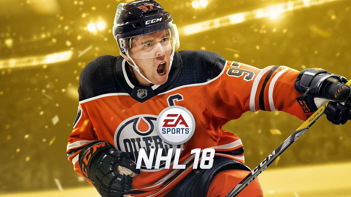 Connor McDavid landed the cover of EA Sports NHL 18.  https://t.co/Q8c...