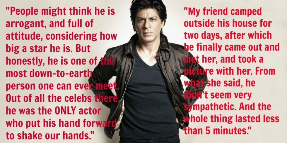 What It's Really Like to Meet Shah Rukh Khan in Person: https://t.co/F4zPr4FvG0