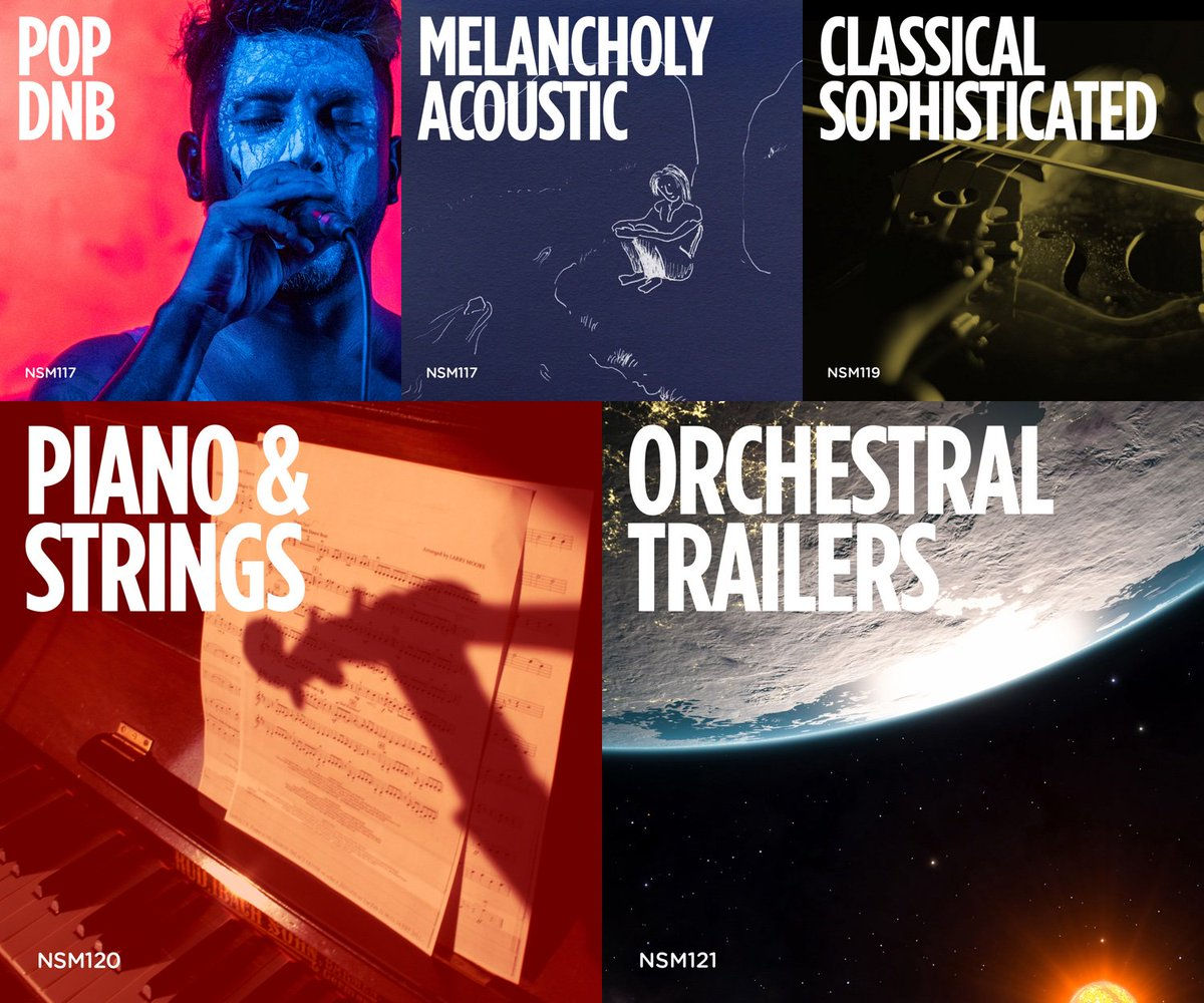 5x #newrelease from @NoSheetMusic  #drum #bass #melancholy #acoustic #classical #orchestral #piano #strings  http:// ow.ly/54lr30cHsaw  &nbsp;  <br>http://pic.twitter.com/Y5LHqHS5o8