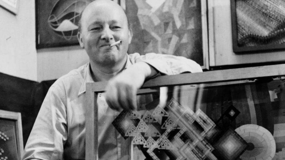 Oskar Fischinger, el artista que hizo visual la música https://t.co/bC...