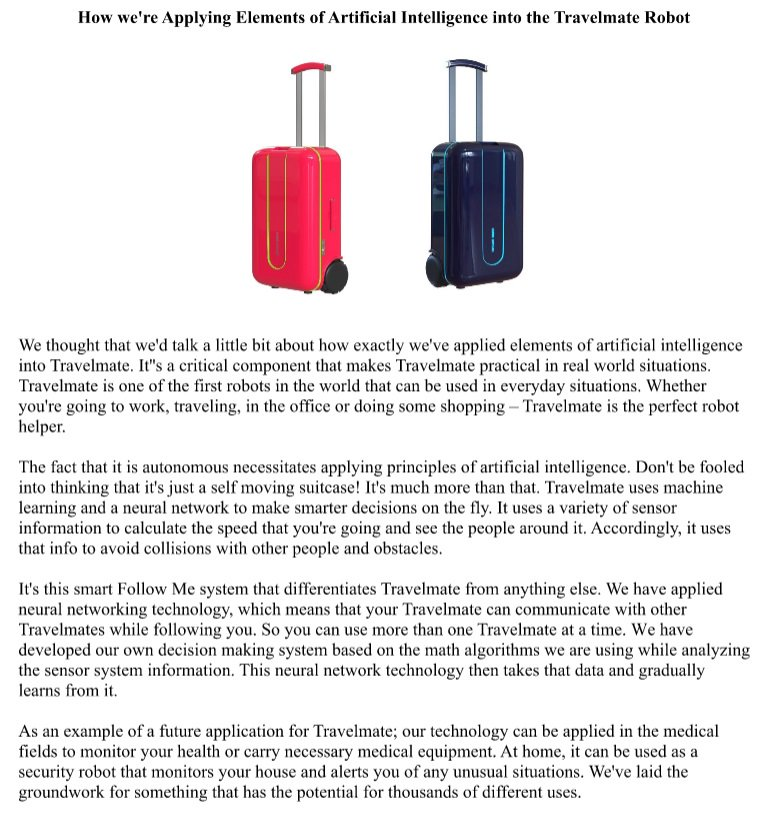 Order a robot suitcase by clicking here: igg.me/at/travelmate/x