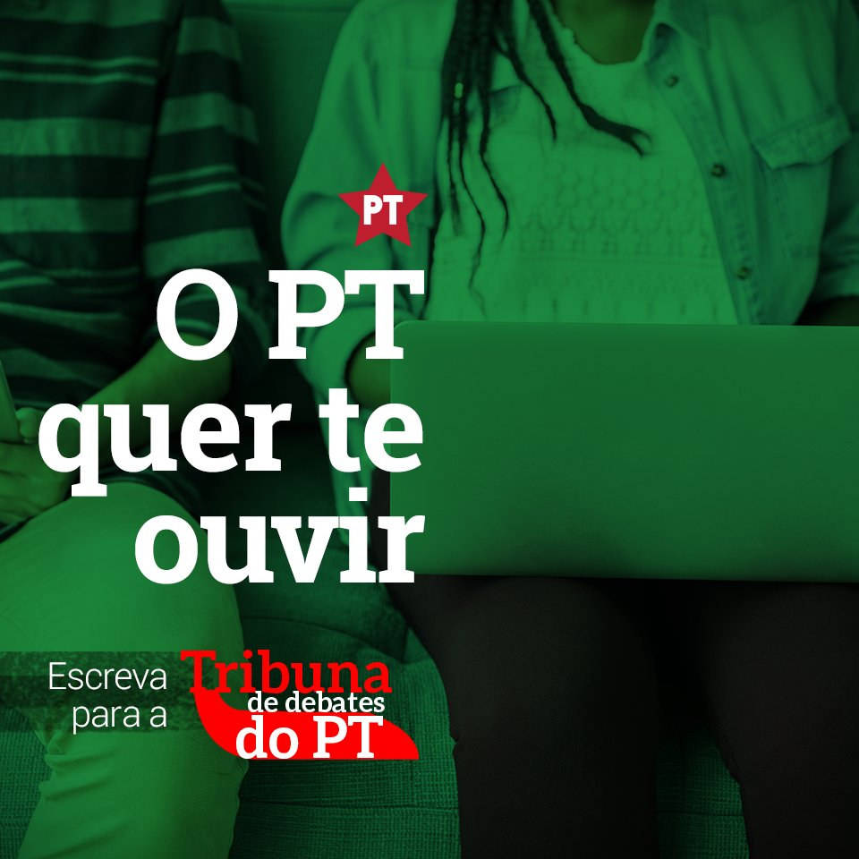 Participe da Tribuna de Debates do PT! É só enviar o seu artigo para redacao@agenciapt.org.br