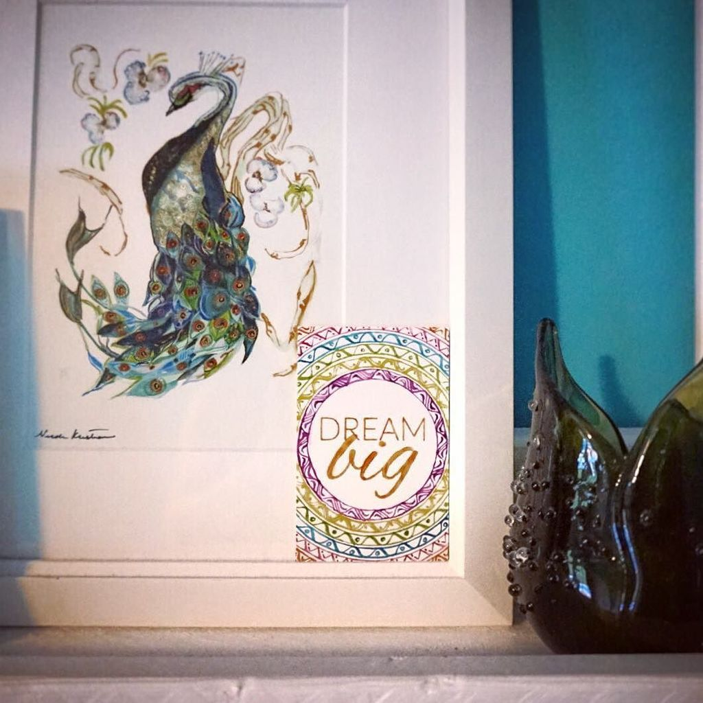 More affirmations around home.. and another gorgeous @nicolekristianastudio piece.  #home decor #dreambig #motiva…  http:// ift.tt/2sD8DER  &nbsp;  <br>http://pic.twitter.com/fQUIay3Sbn