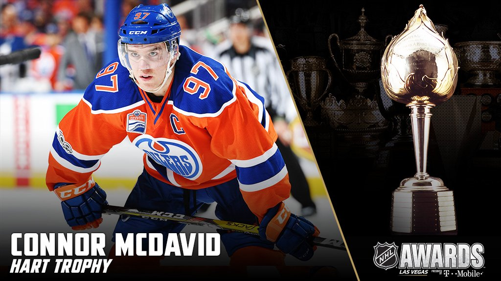 Connor McDavid is the MVP! #NHLAwards https://t.co/kPznLok4cW
