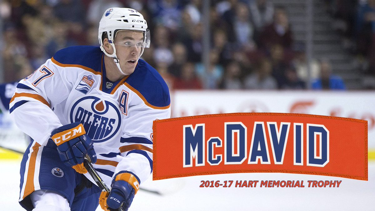BREAKING: #Oilers Connor McDavid is the 4th youngest Hart Trophy winne...