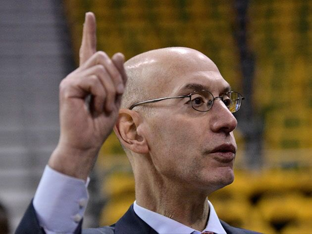 Raise your hand if you think Adam Silver needs to have a serious 'what...