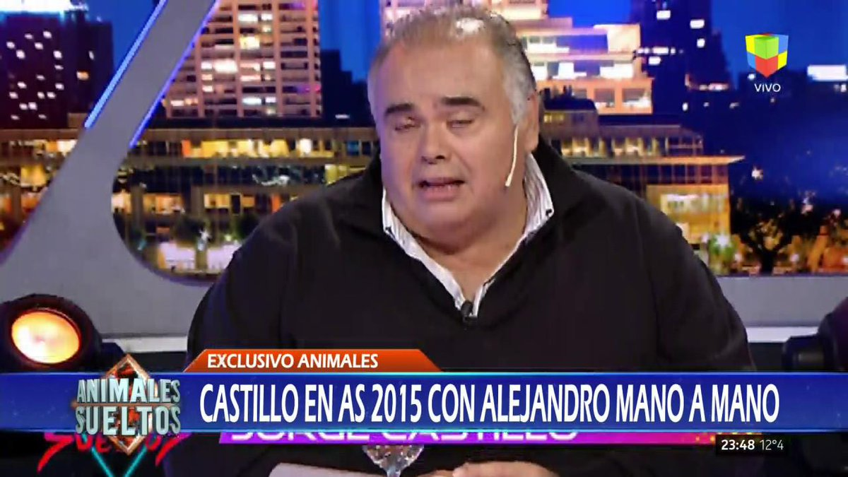 Así le explicaba Castillo a @fantinofantino en #AnimalesSueltos cómo f...
