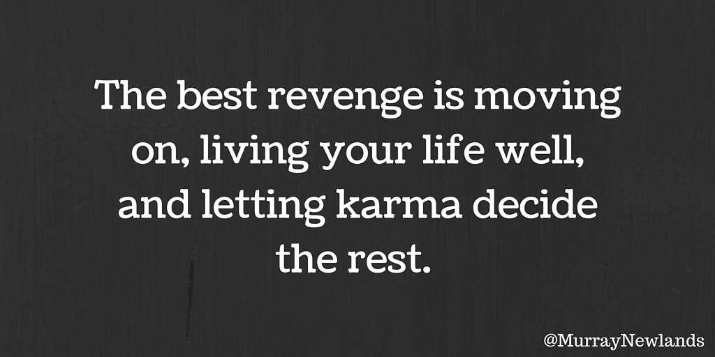 The best revenge is moving on, living your life well, and letting karma decide the rest.   #WednesdayWisdom #CreatePositivity<br>http://pic.twitter.com/GLeUJAeP4W