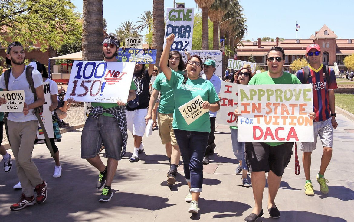 Arizona Regents have tuition rule that could benefit DACA students https://t.co/wZiHnlwFNh