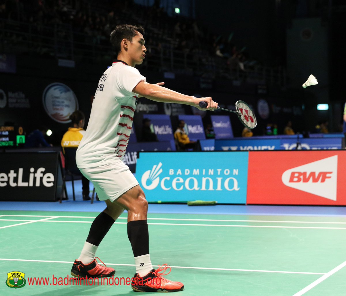 "BADMINTON INDONESIA on Twitter ""Jonatan Christie AustraliaSS"