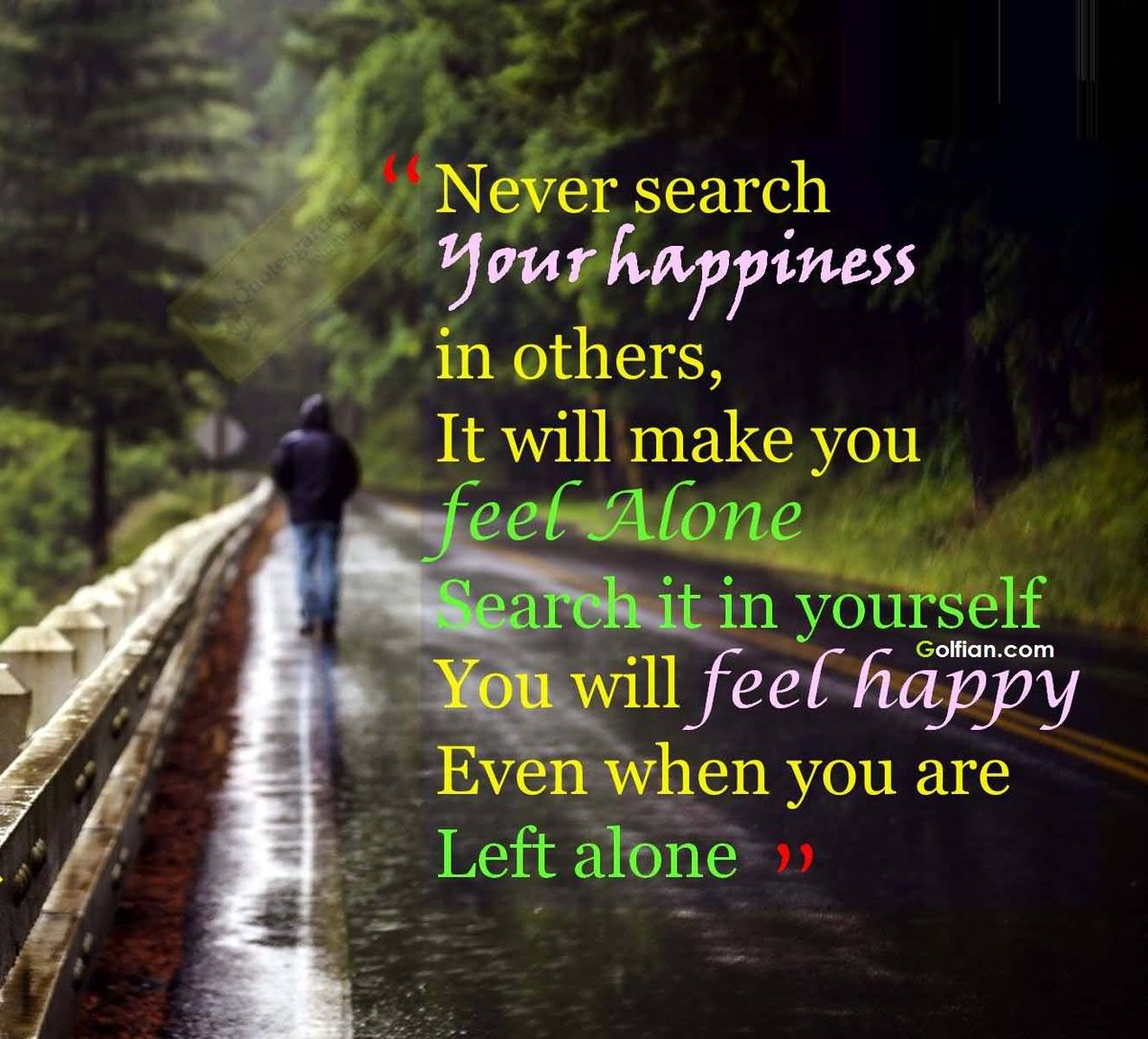 "Lulu on Twitter: ""#ThursdayThoughts: Search for #happiness within yourself,  not in others! You'll feel happy even when you are left alone ..."