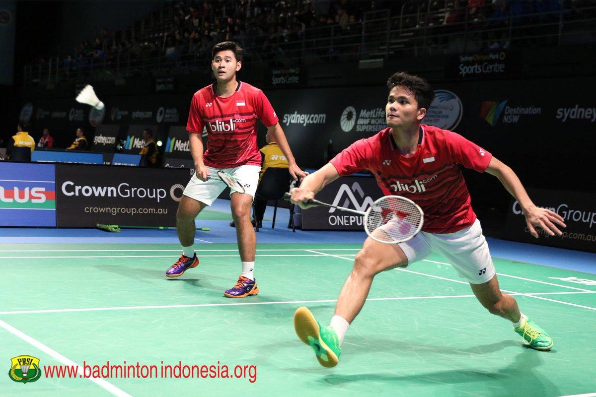 "BADMINTON INDONESIA on Twitter ""Angga Pratama Ricky Karanda"