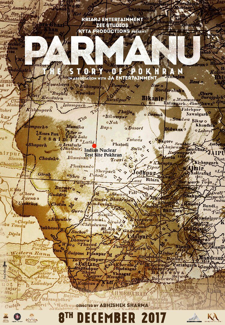 First Look Poster of Parmanu starring John Abraham