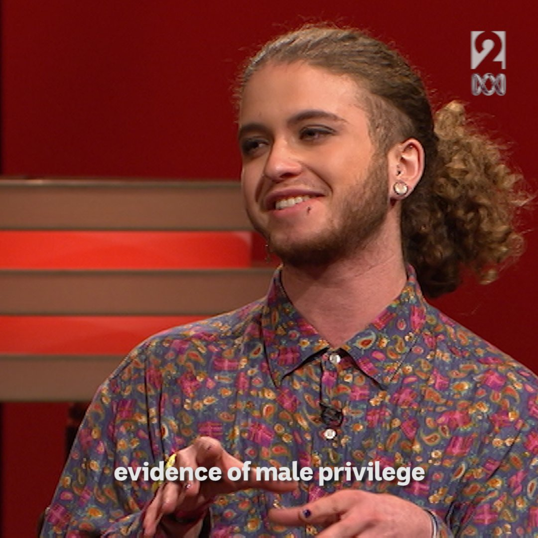 Transgender activist @FindingNevo1 brought an interesting perspective to our #HackLive debate on male privilege. https://t.co/lHrFU1NUxe
