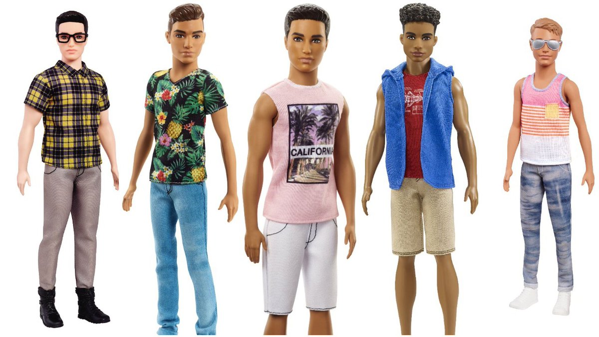 Every new Ken doll looks like he brings an acoustic guitar to your party.