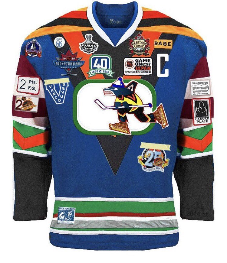 Hey @tyrelkenmore I'm really digging the new Canucks jerseys...I'm sur...