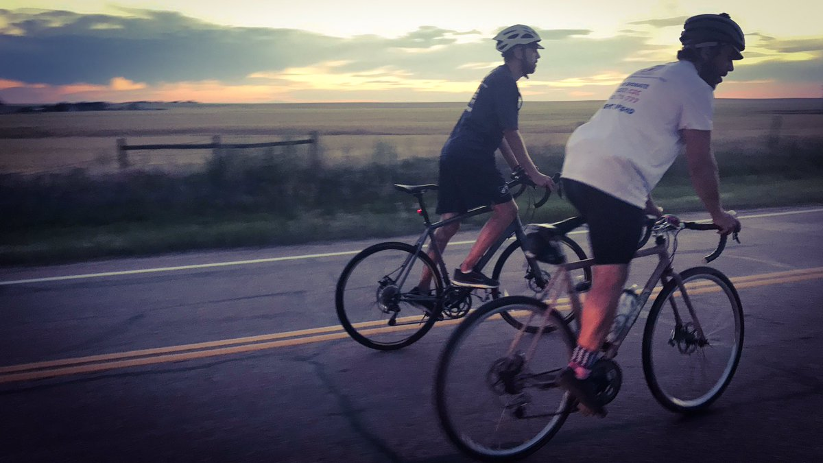 Day 26. The #C2C4FSHD #Team  keeps #peddling to the #sunset trying to reach #Fort #Morgan in #Colorado.  #fight #fshd #awareness #curefshd<br>http://pic.twitter.com/G9uN1ew451
