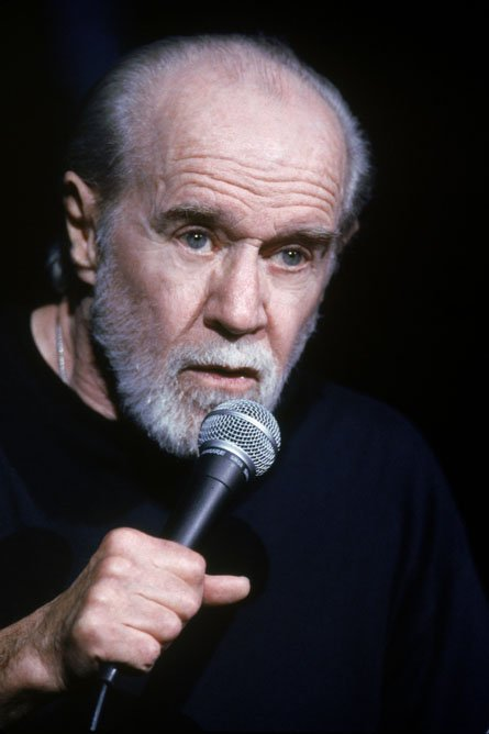 American entertainer #GeorgeCarlin died #onthisday in 2008. #otd  #comedy #sevendirtywords #standup #satire #ItsBadforYa #funny #laugh<br>http://pic.twitter.com/JAk0cGQPnF