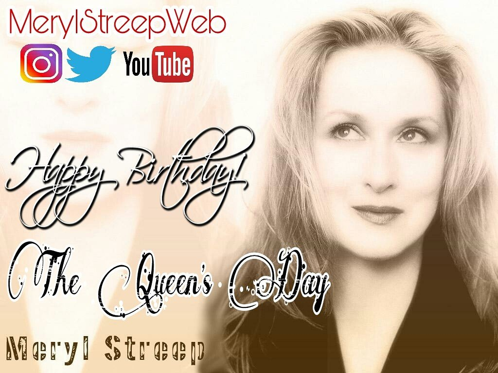 The Queen&#39;s Day #MerylStreep #Happybirthday<br>http://pic.twitter.com/pYZURG2vqs