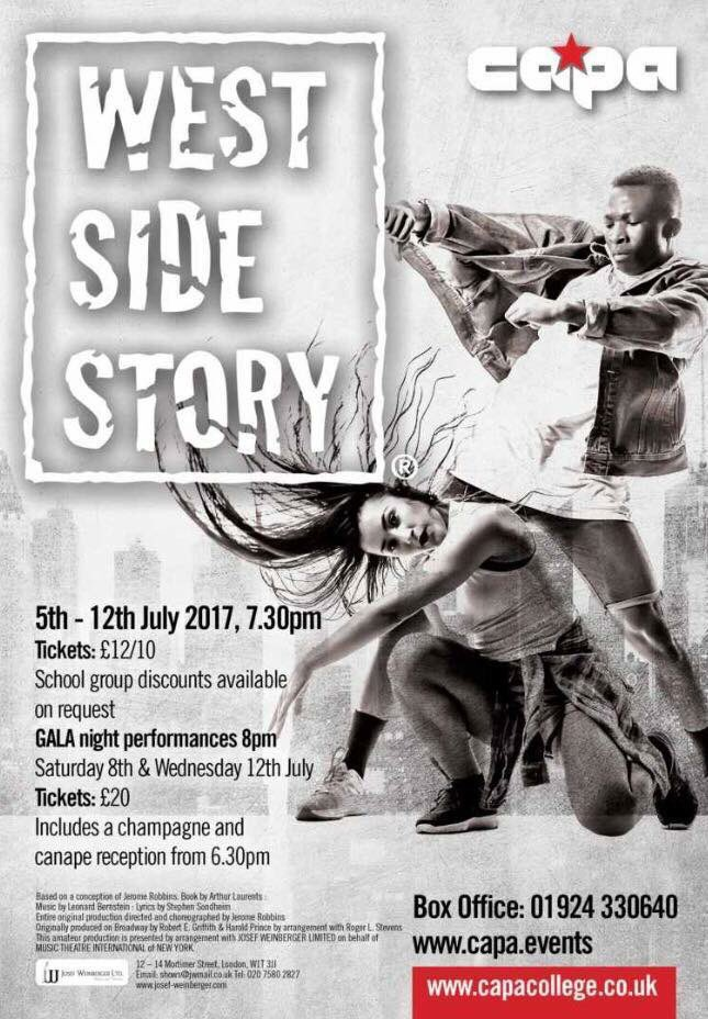 Some breathtaking performances in rehearsals yesterday! Get your tickets from  http:// capa.events  &nbsp;   quickly! #jets #sharks <br>http://pic.twitter.com/N44C2qIzxG