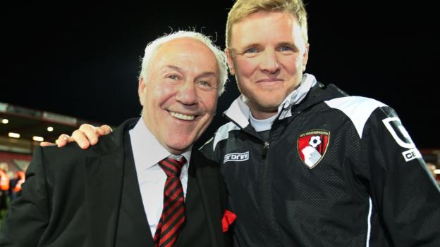 Our thoughts this morning are with @afcbournemouth chairman @jeffmostyn who is recovering following heart surgery. #afcb  <br>http://pic.twitter.com/T6nswTeEIj