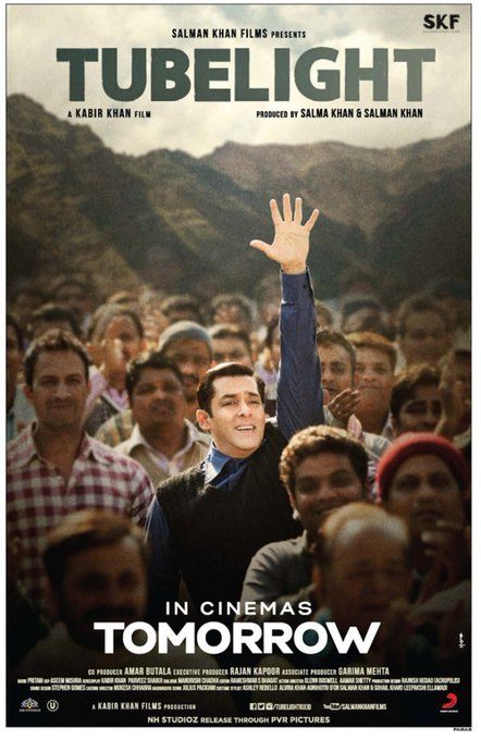 Ab ke Eid roshan hogi #Tubelight se! Phenomenal response in advance bookings already. #TooMuchFun https://t.co/e13Napj1qD