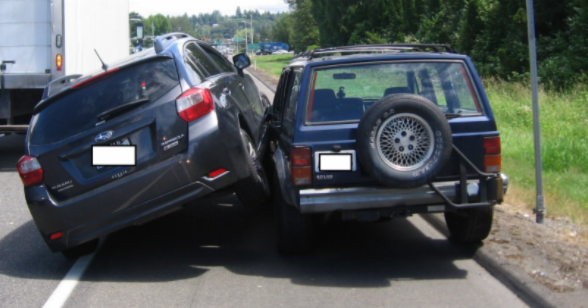 Angry Subaru driver rams Jeep passing on shoulder three times, WSP says https://t.co/8iphLYX1Ka