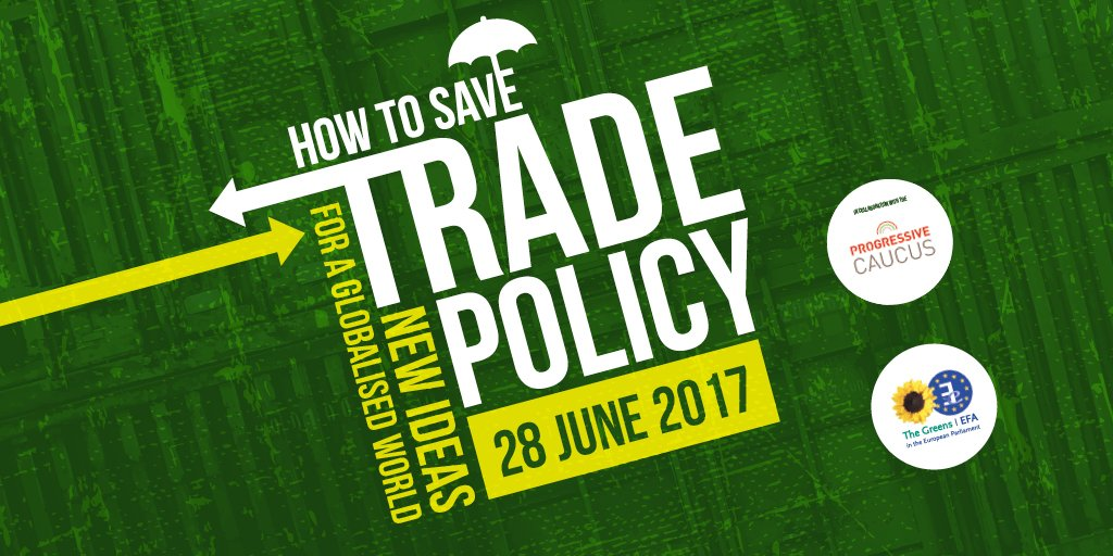 Greens know trade policy needs to change for the better. Join us next week to explore ways how- https://www. greens-efa.eu/trade  &nbsp;   @GreensEP #TTIP #CETA <br>http://pic.twitter.com/ESVs6u8QQK