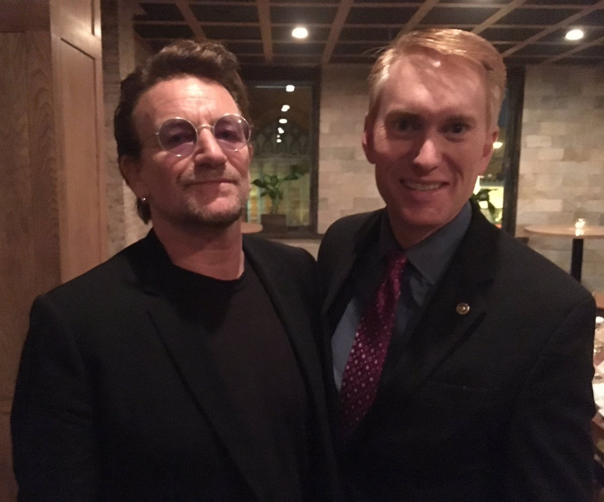 Got to meet #Bono while @U2 was in D.C. last night. Pretty cool. #U2Th...