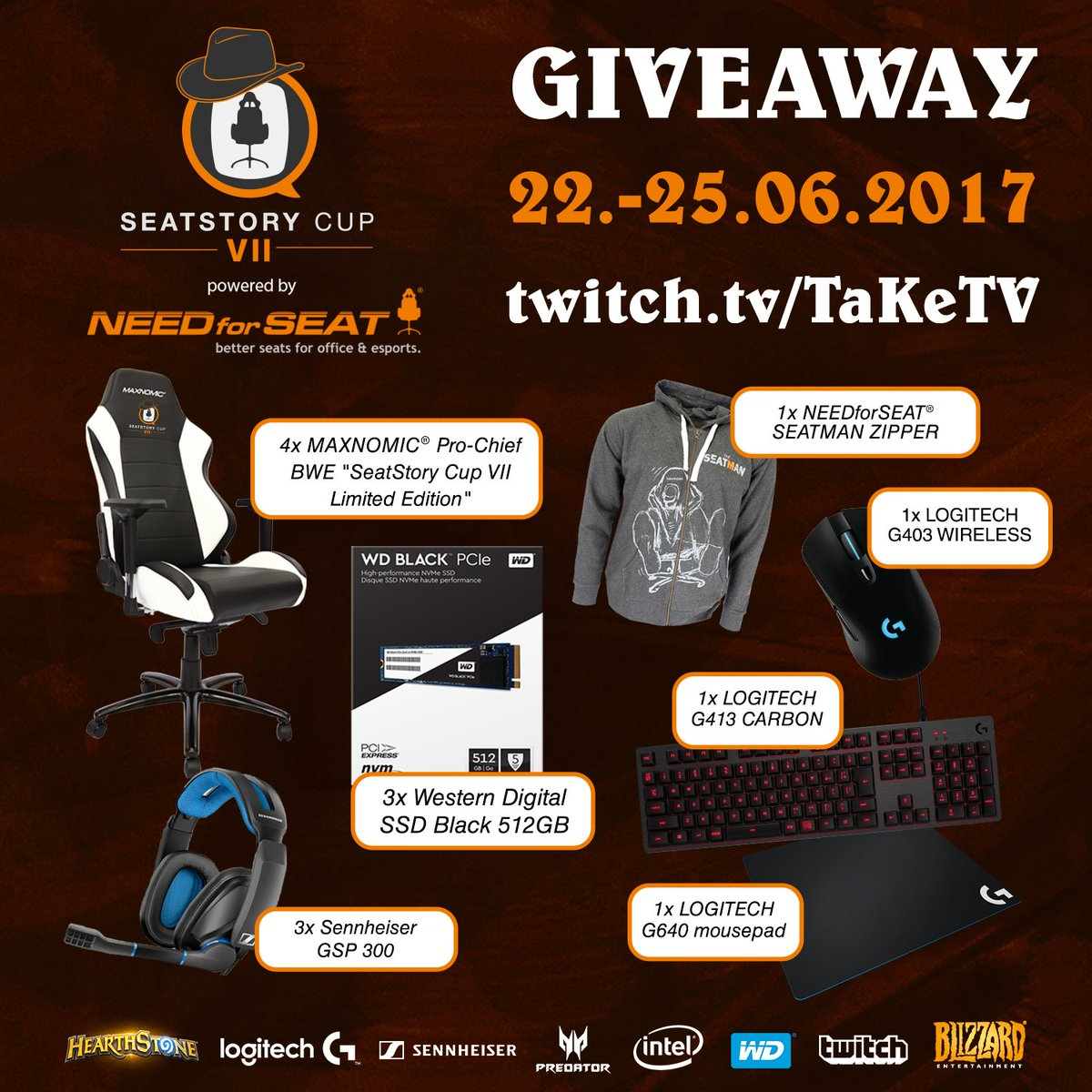 Make sure to participate in the #SSC7 giveaway and win awesome prizes!  https://t.co/RaDi1GF8E3 https://t.co/sZSbh2m72Y