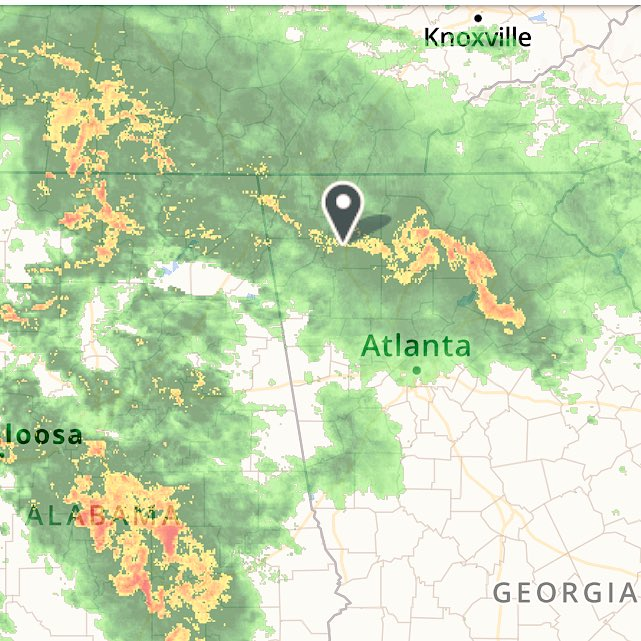 Have a feeling my Thursday #trail #run is going to feel more like a #mudrun. #rain #storms #TropicalStormCindy #trailrunning<br>http://pic.twitter.com/Tk1ZkQrQyK