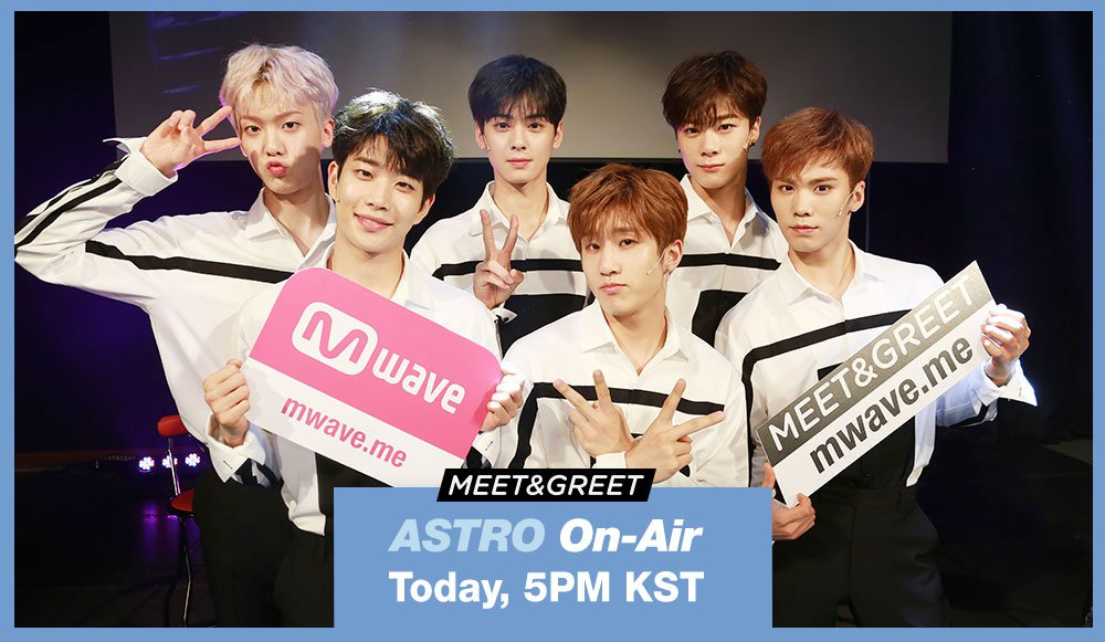 ARE U READY? DON&#39;T MISS &lt;#MEETnGREET x #ASTRO&gt;   #TODAY (June 22) 5PM(KST)   http:// bit.ly/2rOaLcn  &nbsp;  <br>http://pic.twitter.com/e58ApoXKpZ
