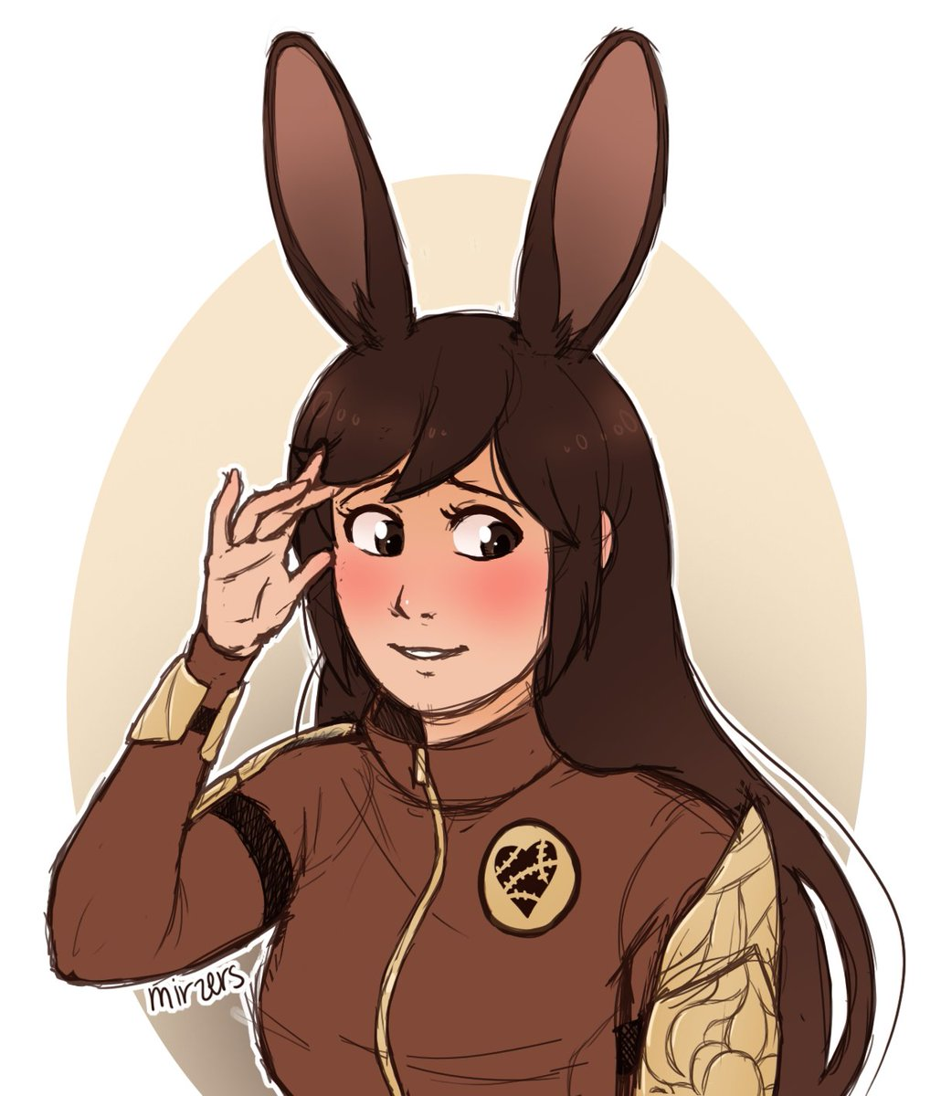 RWBY Art Challenge Day 21: a faunus character Of course I went with my girl, Velvet &lt;3 @CaitiWard_ #RWBY #RWBYAC<br>http://pic.twitter.com/uAW9uH4aId
