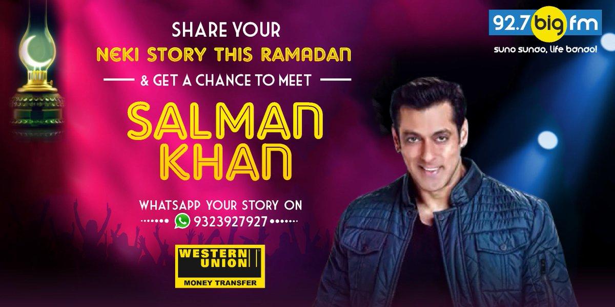 Share your Neki Ki Story this #Ramadan & get a chance to meet #Sal...