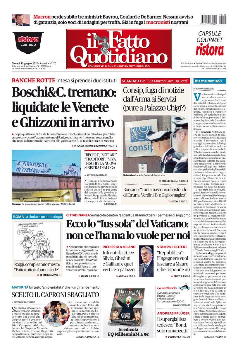 Boschi&C. tremano: liquidate le Vene...