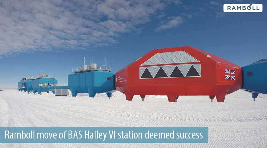 .@ramboll complete successful move of Halley VI research station in Antarctic »  https:// goo.gl/TPFbjh  &nbsp;   #engineering #consulting <br>http://pic.twitter.com/E3Pl8ZCAcV