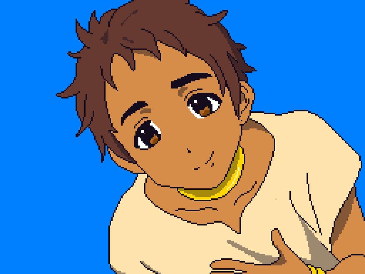 Project 365 - Day 357..Hope #design #pixaki #pixelart #pixels #sprites #gamedev #youth #child #eyes #smile #hope #manga #anime<br>http://pic.twitter.com/GX94R5AClA