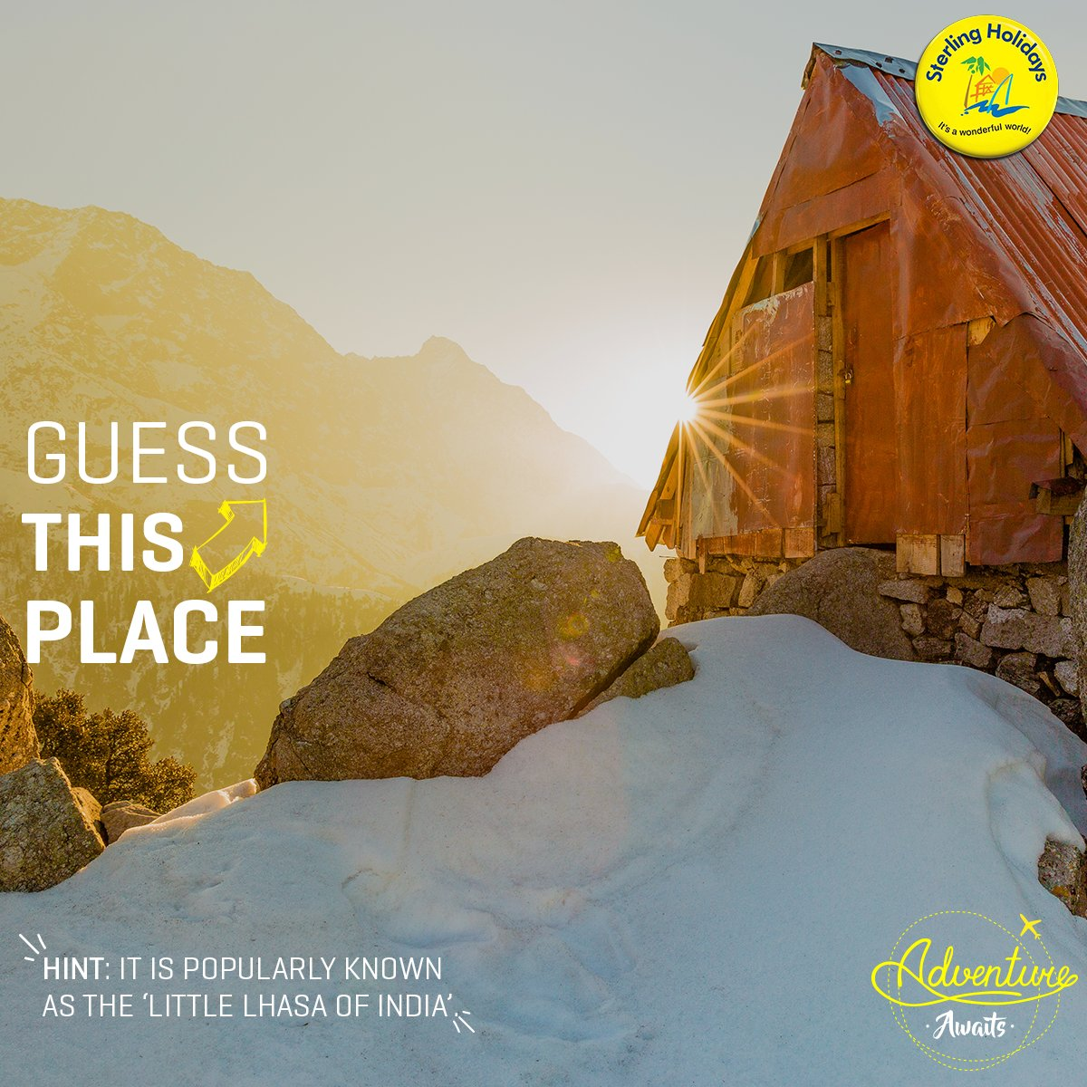 #GuessThePlace Gorge on Tibetan #cuisine &amp; take a tour of the Tibetan culture without stepping a foot outside India. #AdventureAwaits.<br>http://pic.twitter.com/nYx3dcxwYA
