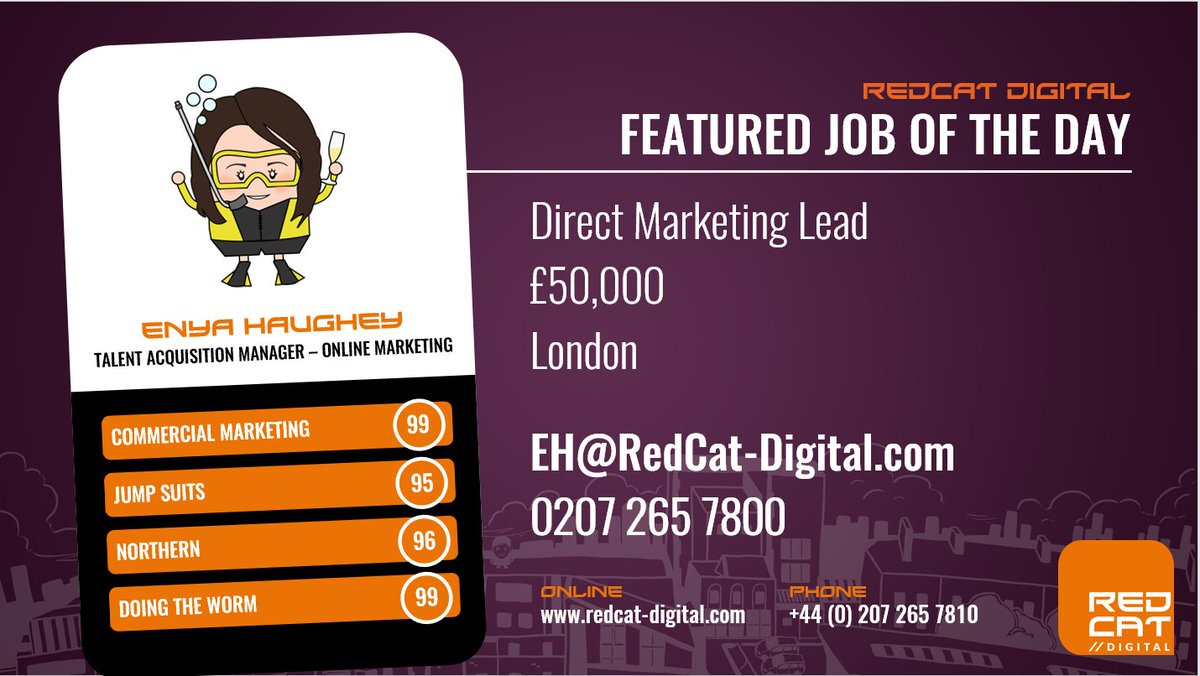 #Hiring #Direct #Marketing Lead for a fantastic #Fintech based in Central #London - must have strong #email and #direct mail experience!<br>http://pic.twitter.com/8aFipiJURS
